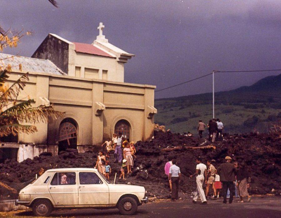 Éruption du 24 mars 1977