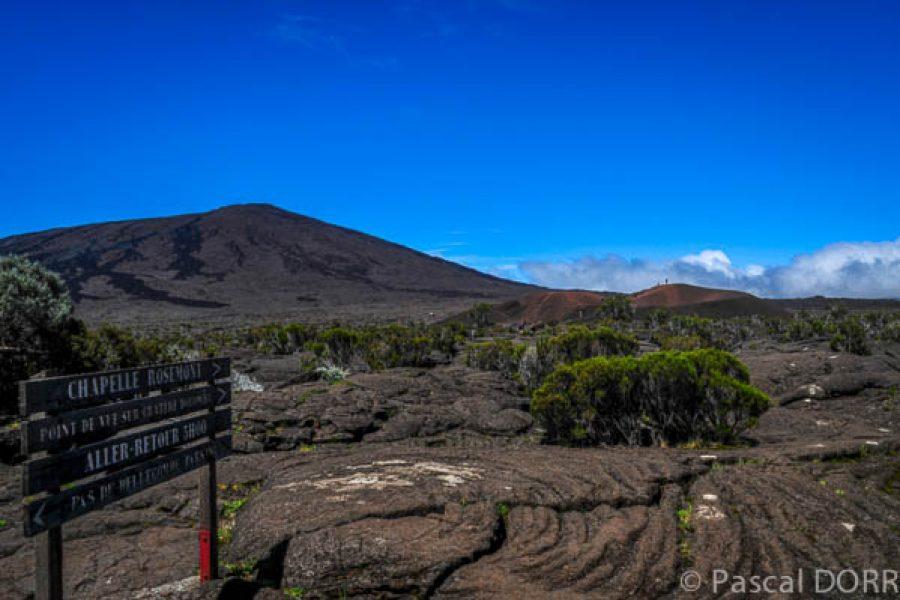 Les randonnées autour du volcan
