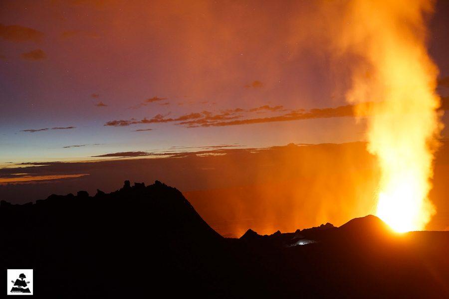 Éruption du 31 janvier 2017