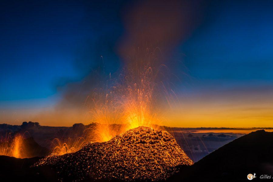 Éruption du 31 juillet 2015