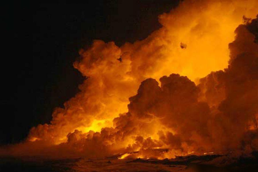 Éruption du 2 avril 2007