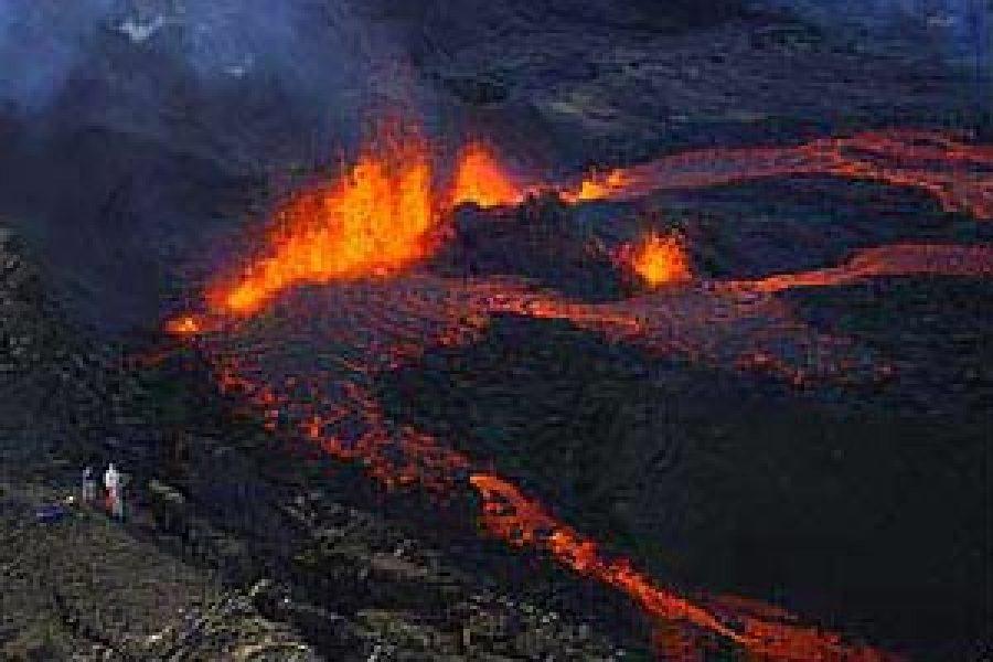 Éruption du 4 octobre 2005