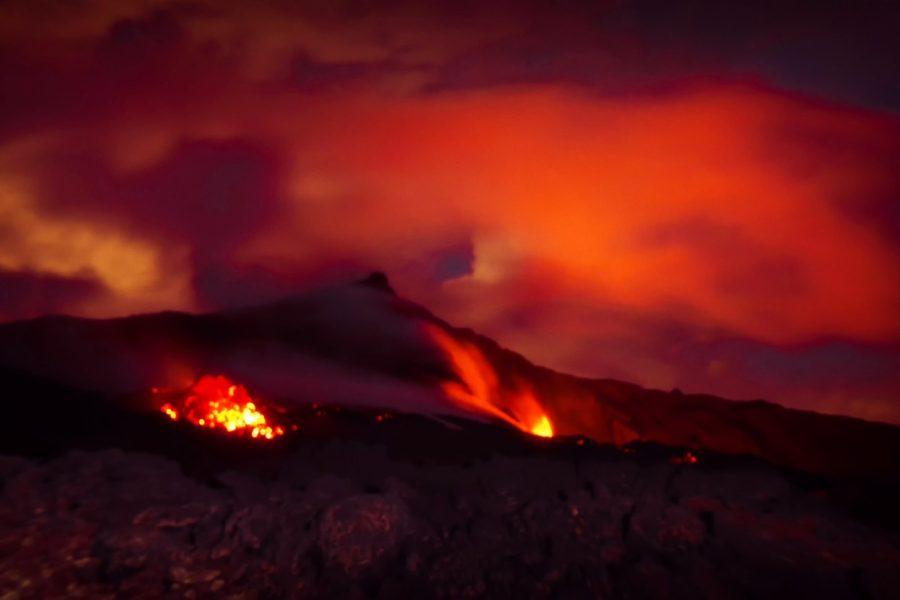 Éruption du 3 avril 2018
