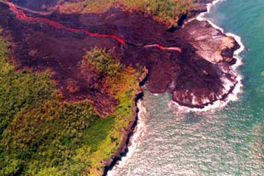 Éruption du 4 janvier 2002
