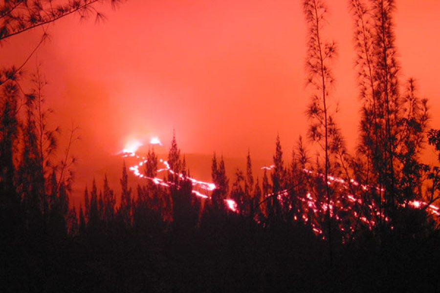 Éruption du 16 novembre 2002