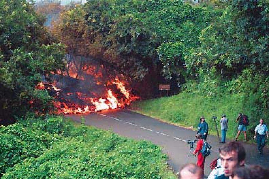 Éruption du 17 février 2005