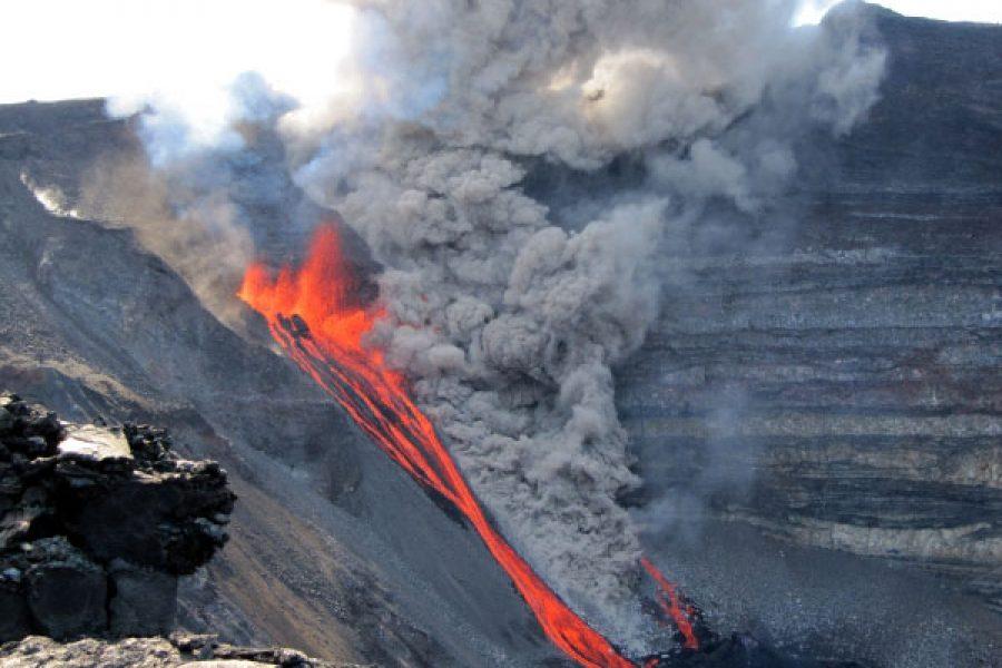 Éruption du 2 janvier 2010