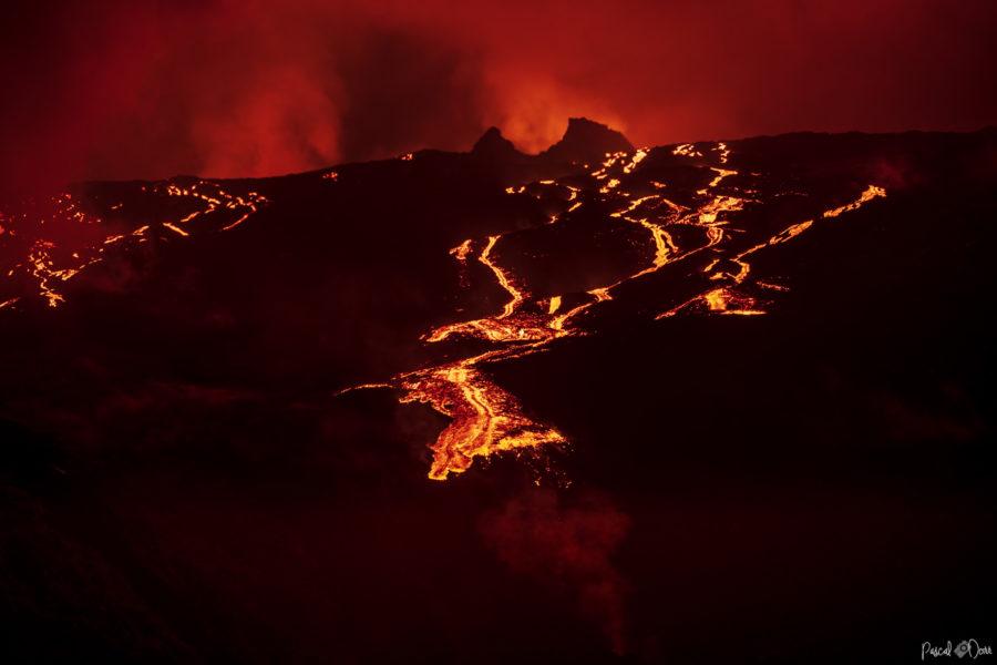 Éruption du 18 février 2019